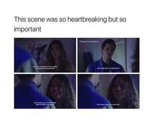 13 reasons why, justin foley, and jessica davis image