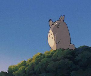 totoro, anime, and gif image