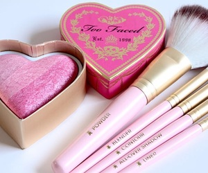 Brushes, pink, and girls image