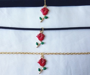 accessories, flowers, and rose image