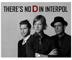 interpol, lt; 3, and carlos d image