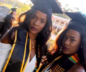 beautiful, girls, and graduation image