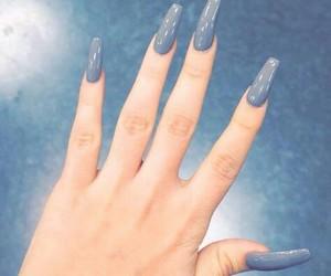 nails and grey image