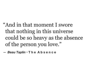 absence, and, and as image