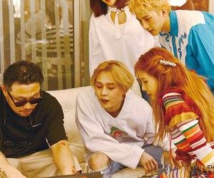 k-pop, pentagon, and hyuna image