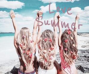 beach, we heart it, and beach girl image