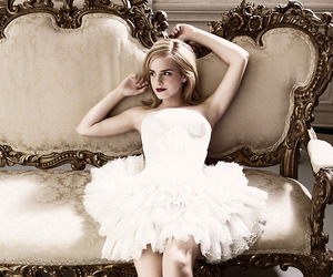 emma watson, dress, and harry potter image