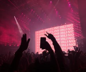 concert, pink, and Drake image