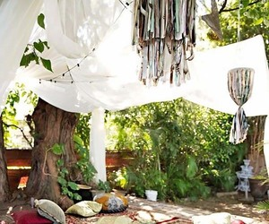 bohemian, inspiration, and garden design image