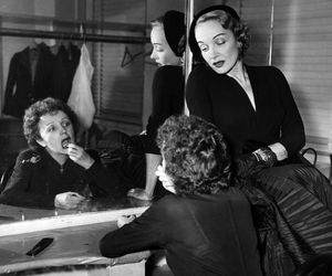 black and white, edith piaf, and Marlene Dietrich image
