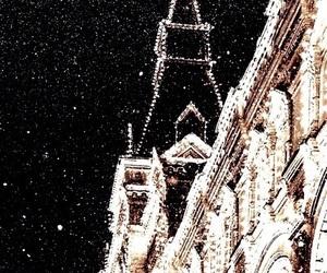 winter, travel, and dark image