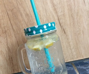 summer, limonade, and patterns image