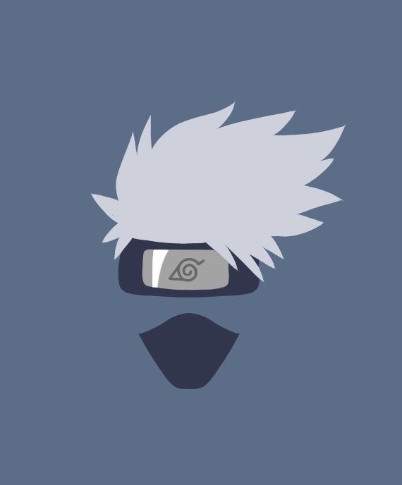 Kakashi Minimalist Wallpaper Discovered By Stephanie