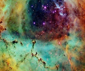 colorful, space, and galaxy image