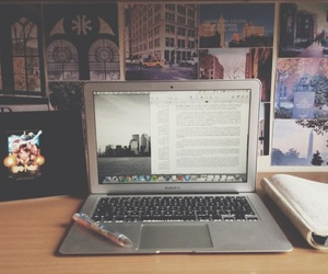 desk and hipster image