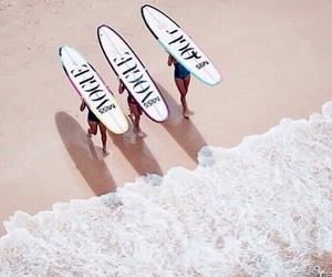 vogue, beach, and surf image