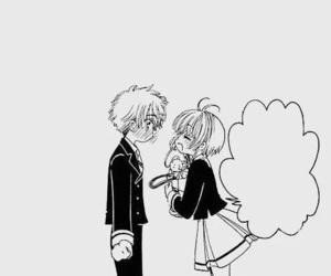 sakura kinomoto and syaoran li image