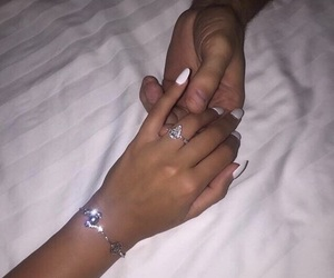 couple, goals, and ring image