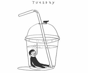 tuesday, art, and drawing image