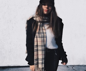 Burberry, nyc, and outfit image