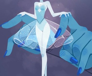 steven universe, blue pearl, and blue image