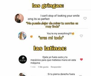 LATINAS, memes, and gringas image