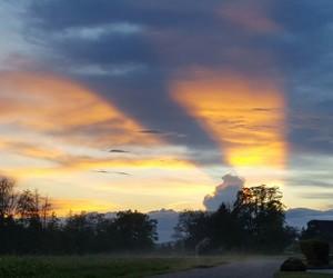 sky, sunset, and swiss image