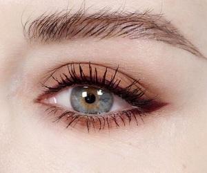 blue, eye, and make-up image