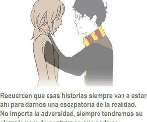 harry potter, historias, and magia image