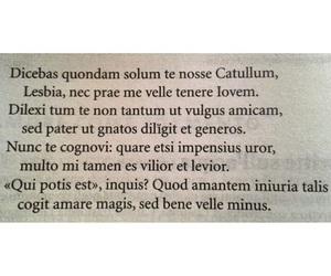 latin, lesbia, and love image