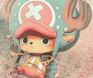 chopper, one piece, and kawai image