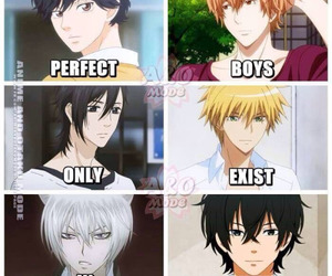 anime and perfect boys image