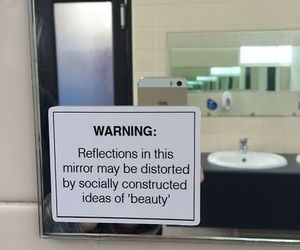 mirror, beauty, and society image