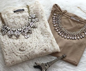 clothes, fancy, and necklace image