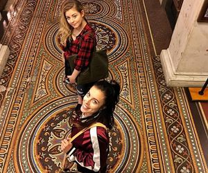 tile floor, gracie gold, and ashley wagner image