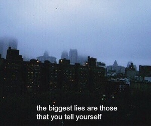 quotes, grunge, and lies image