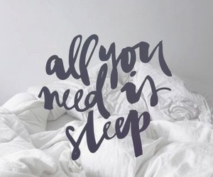 sleep, wallpaper, and quotes image