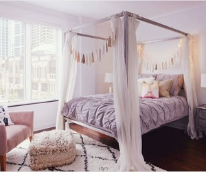 bedroom, cool, and decor image