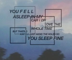 twenty one pilots, tear in my heart, and Lyrics image