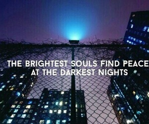 quote, night, and soul image