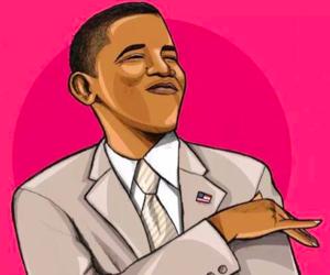 obama and president image