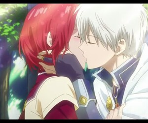 amor, beso, and shoujo image
