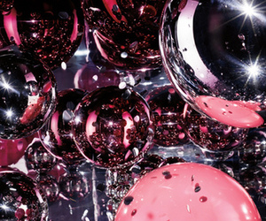 pink, silver, and sparkle image