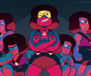 art, rubies, and steven universe image