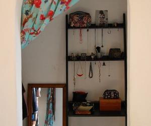 boho, closet, and studio image