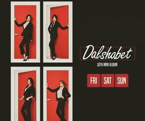 album, kpop, and dal shabet image
