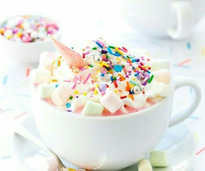 unicorn, food, and marshmallow image
