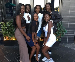 Queen, melanin popping, and 🍫 image