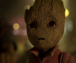 groot, Marvel, and baby groot image