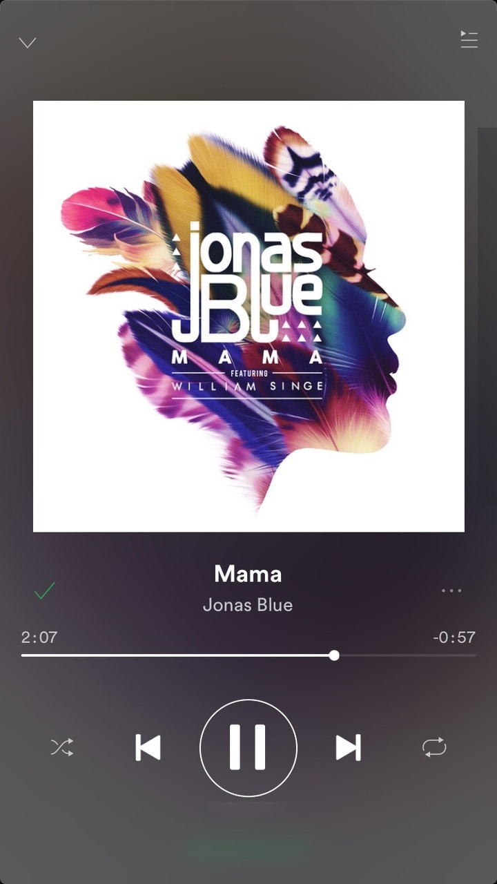 mama, spotify, and jonas blue image